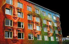 Graffiti portraits-need to enlarge gorgeous!