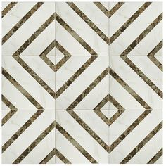 Merola Tile Emporio Colonial 12 in. x 12 in. Ceramic Floor and Wall Tile (25.19 sq. ft. / case) (NOTE: seen here -- http://centsationalgirl.com/2017/02/hall-bathroom-makeover/ )