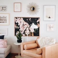 Gallery Wall Ideas | Living Room