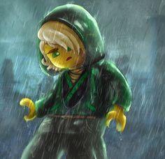 Ninjago: Movie Lloyd Rain Lego by YASSDENSWH