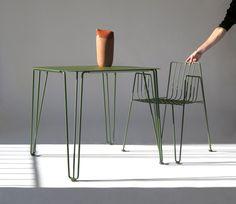 La mesa y silla Rambla de Mobles114 es la novedad de este año de esta histórica marca de muebles modernos