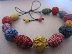 Nespresso Schmuck Collier/Halskette von Beau Bonbon auf DaWanda.com