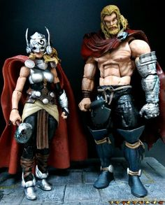 Lady Thor (All New Thor) (Marvel Legends) Custom Action Figure