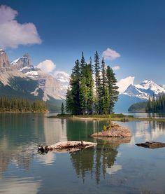 Spirit Island Legend-My other love affair-Jasper National Park