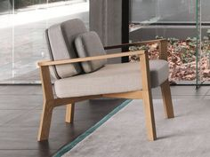 Garden armchair Armchair with armrests Breda Collection by Punt Furniture, Luxury Living Room, My Furniture, Home Furniture, Living Room Decor, Home Decor, Armchair, Armchair Design, Family Room Fireplace