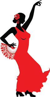 Espagnol Flamenco Style Tablier Rouge Noir Pois Noël Cuisine Cadeau Femme