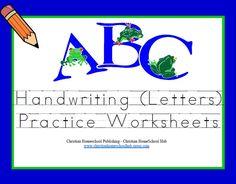 Perfect for practicing letters! #homeschool #preschool #kindergarten #teach
