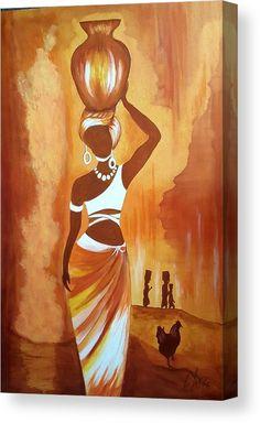 African Drawings, African Art Paintings, Fine Art Amerika, Black Art Painting, Hawaiian Art, Africa Art, Madhubani Painting, African Men, African Attire