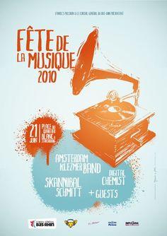 Fête de la Musique 2010 de Strasbourg, réalisée pour l