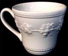 "Wedgwood  Home  Festivity Pattern  Coffee or Tea Mug  3 1/2"" Tall"