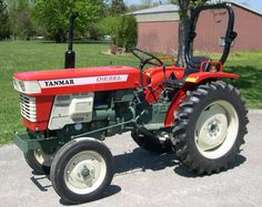Yanmar Tractor, Bbq, Mini, Tractors, Cars Motorcycles, Agriculture, Barbecue, Barrel Smoker