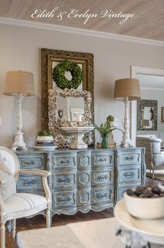 Walk-in closet idea, that long chest of drawers. - Love, Grace