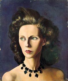 Principessa Lola Giovannelli by Leonor Fini.