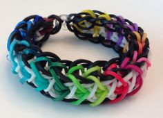 crazy loom bracelets | Loom Bracelet Rubber Band Every Color Glow in The Dark Fun Crazy ...