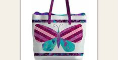 This Charming Butterfly Tote is a Simple Project - Quilting Digest