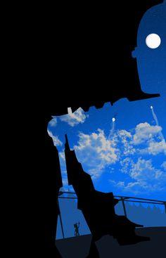 The Iron Giant Poster by SkinnyGlasses.deviantart.com on @DeviantArt