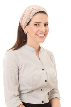 pink head cover  bandana by TAMAR LANDAU, $23 #head cover #modest chic #hair accessories #headband #bandana
