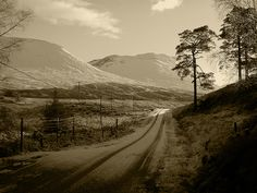 Road to Bridge of Orchy