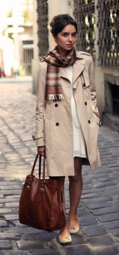 I have always wanted a trench coat like this one!