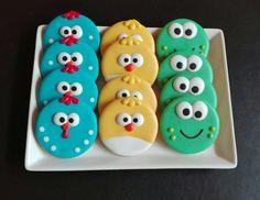 Galletas de la Gallina Pintadita, decoracookies