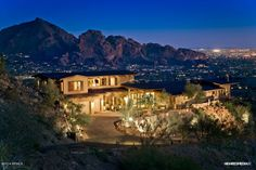 Beautiful home with a view.