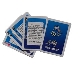 Kritzer Marketing from New York NY USA Custom bridge size playing cards. Custom Printed Playing Cards, Usa Customs, Promotional Giveaways, Custom Logos, Brand Names, Let It Be, Feelings