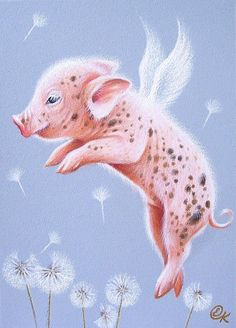 I can fly too    Elena Kolotusha..what a little cutie.
