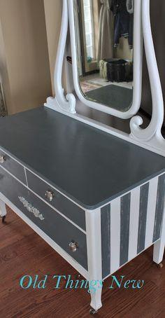 Old Things New: Vintage Dresser & Mirror Update