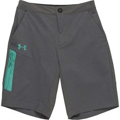 Under Armour Armourvent Trail Short  Mens GraniteGreen Malachite M -- More info could be found at the image url.Note:It is affiliate link to Amazon. #SmartGYM