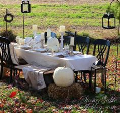 #Thanksgiving Table Settings {diy}