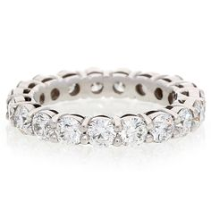 18K White Gold Diamond Full Eternity Ring For Sale by Uwe Koetter.    www.uwekoetter.com Full Eternity Ring, Eternity Ring Diamond, White Gold Diamonds, Wedding Bands, Jewels, Engagement Rings, Bracelets, Silver, Unique