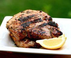 Tuscan pork chops....so tender and juicy.