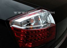 Audi A4 B6 2002-2005 Red & Clear LED Taillight