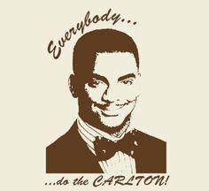 14d925c310380c 260 DO THE CARLTON fresh prince of bel air mens t-Shirt