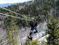 zip lines zip rides vermont canopy tours adventure sports