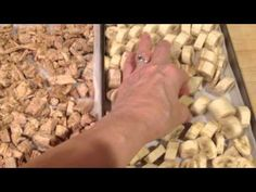 PORK TENDERLOIN REHYDRATED Harvest Right Freeze Dryer BANANAS DRIED MEAT - YouTube
