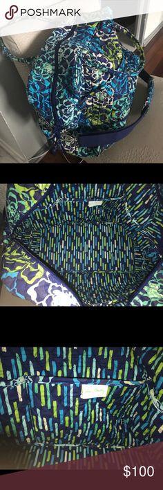 Vera Bradley weekender bag Never been used Katalina Blues pattern travel/weekender bag. Vera Bradley Bags Travel Bags
