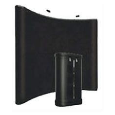 Black Fabric Pop Up Displays: Fabric Display, Exhibition Display, Black Fabric, Graphic Prints, Pop Up, Expo Stand, Popup