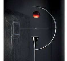 Nemo Lighting presents the Newton floor lamp by Andrea Branzi. This luminaire is composed of a black metal structure and a white lacquered aluminium. Lamp Light, Light Bulb, White Lead, Black And White, Black Hallway, Luminaire Original, Ay Illuminate, Serge Mouille, Nemo