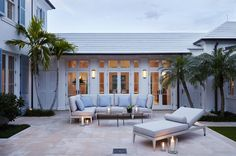 A Classic Georgian Home with a Modernist Twist in Palm Beach Photos | Architectural Digest