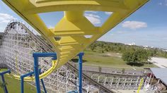 Freedom Flyer Roller Coaster POV in 4K Ultra HD - UHDTV - Fun Spot Orlando