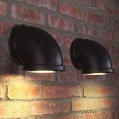 Portentous Useful Ideas: Industrial Lighting Pipe industrial lighting sconce.Ind… Portentous Useful Ideas: Industrial Lighting Pipe Industrial Lighting Lamp.