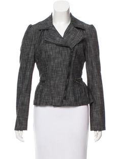 Rag & Bone Linen-Blend Casual Jacket