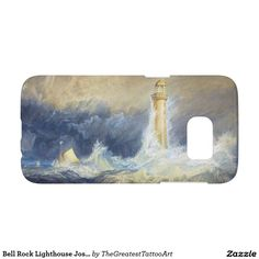 Bell Rock Lighthouse Joseph Mallord William Turner Samsung Galaxy S7 Case