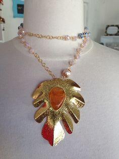 Perlas dije bronce cadenas