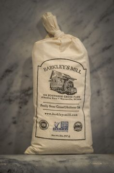 Stoned Happy Grits! Barkley's Mill Gourmet Grits. #nongmo http://www.barkleysmill.com/products/hickory-king-dent-gourmet-grits