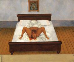 프리다 칼로 , 나의 탄생 , 1932 자신의 비극적 생애의 출발을 알리는 출생의 장면을 적나라하게 묘사했다.
