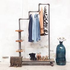 This clothing rack is perfect for my walk in closet!