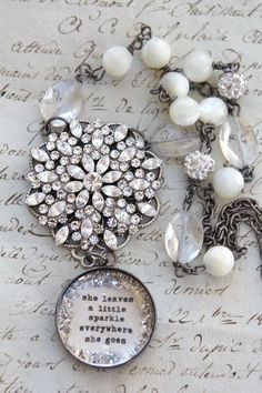She Leaves Sparkle Everywhere She Goes...bethquinndesigns
