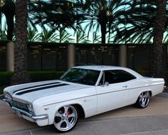This custom Impala won Goodguys Del Mar, CA Nationals top honors, Classic Chevy Pick Award. This custom restoration was done with a spare no expense budget o...